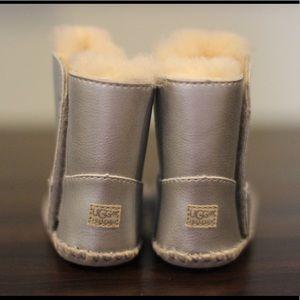 Ugg Cassie Metallic Round Toe Boot
